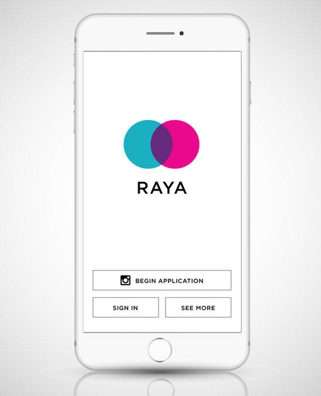 Como funciona  o app raya?